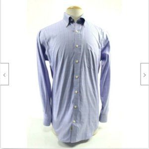 Peter Millar Mens Dress Shirt Size Medium EUC